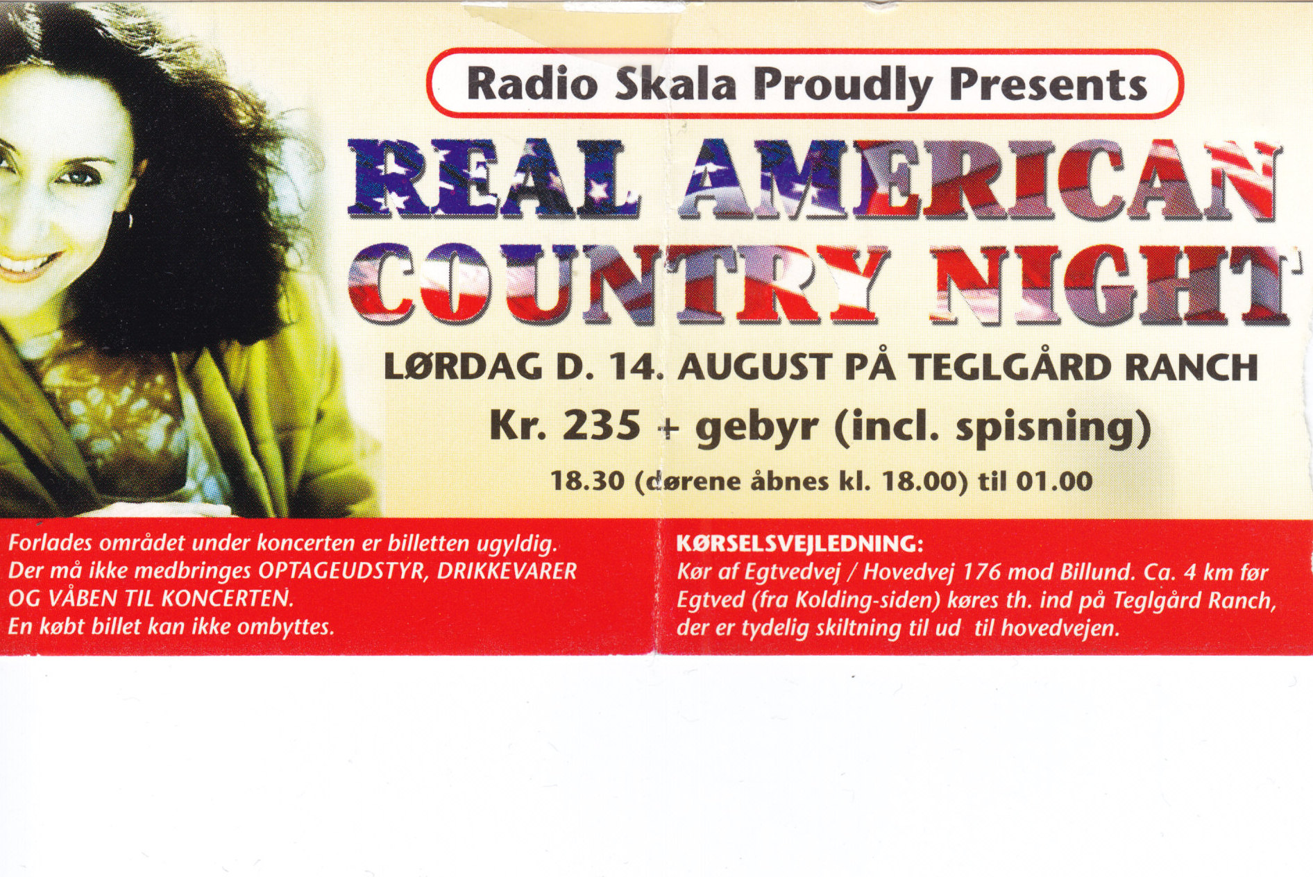 14. august 1999 Real American Country Nigth