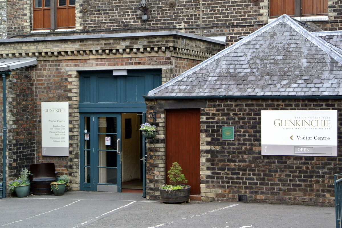 "Glenkinchie Distillery - ""The Edinburgh Malt"""