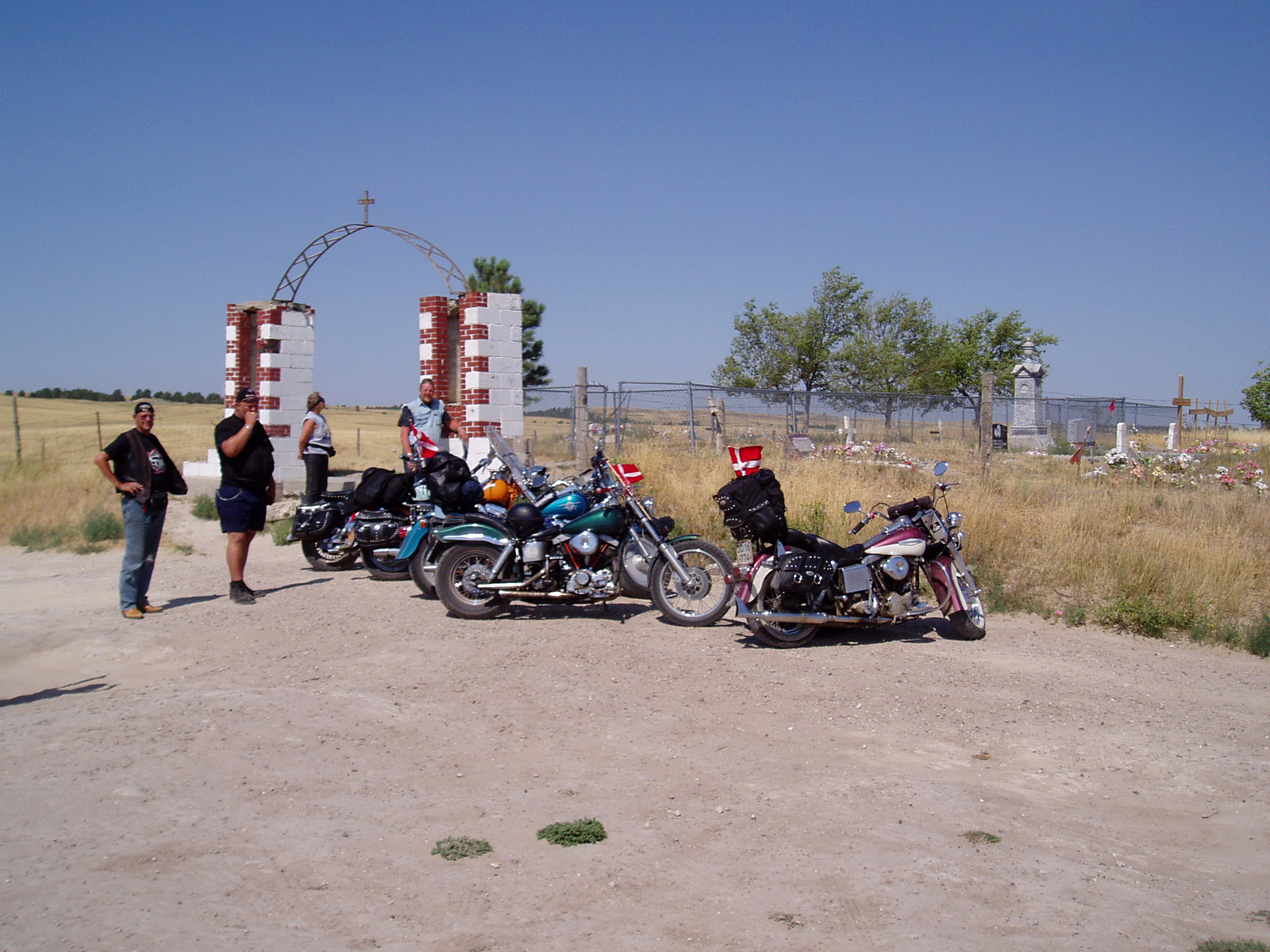 11. august 2003 - 277 km: Rosebud - Rapid City
