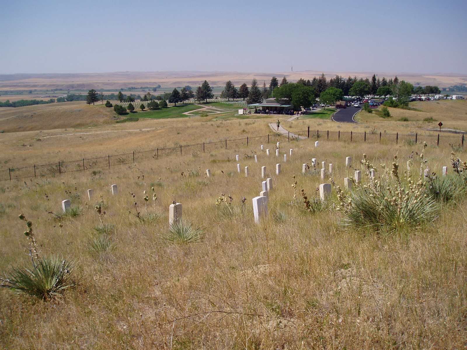 16. august 2003 - Udflugt til Little Bighorn Battelfield