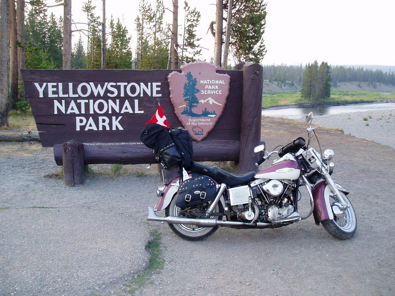 19. august 2003 - 303 km: Yellowstone - Teton Village