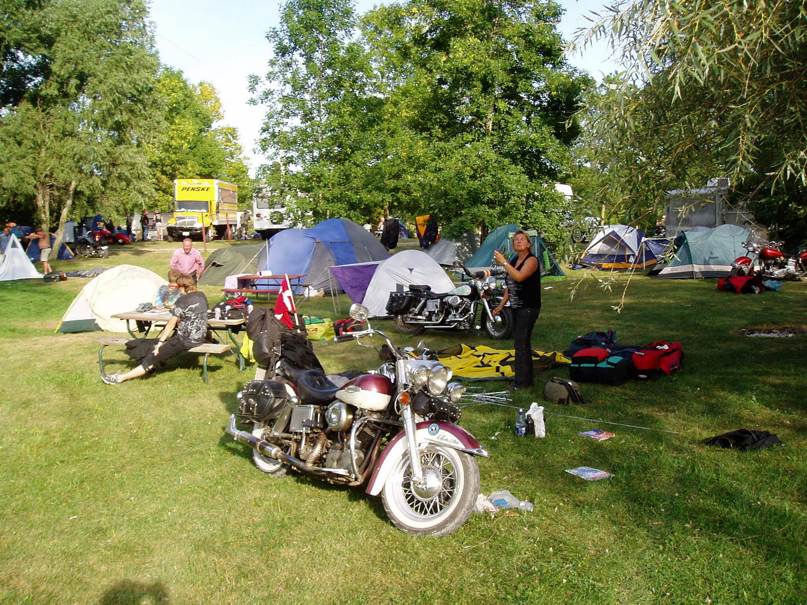 27. august 2003 - 450 km: West Liberty - Lazy Days